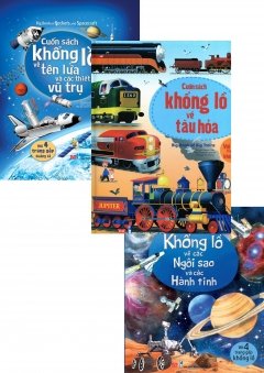 Combo Big Book: Ngôi Sao Hành Tinh + Thiết Bị Vũ Trụ + Tàu Hỏa
