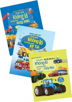 Combo Big Book: Máy Kéo + Xe Tải + Máy Móc