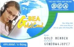 Thẻ Học Tiếng Anh Bea Card - Thời Lượng 06 Tháng (CD)