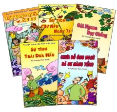 Truyện Tranh Cổ Tích Việt Nam - Kể Chuyện Theo Tranh (Trọn Bộ 5 Cuốn)