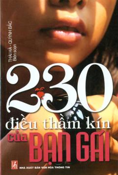 230 Điều Thầm Kín Của Bạn Gái