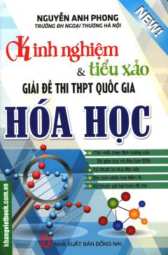Kinh Nghiệm & Tiểu Xảo Giải Đề Thi THPT Quốc Gia - Hóa Học