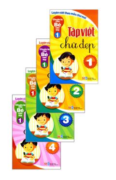 Tập Viết Chữ Đẹp - Chuẩn Bị Cho Bé Vào Lớp 1 (Trọn Bộ 4 Cuốn)