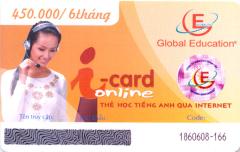 Thẻ Học Tiếng Anh Qua Internet - i-card Online (Thời Lượng 6 Tháng - CD)