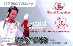 Thẻ Học Tiếng Anh Qua Internet - i-Card Online (Thời Lượng 12 Tháng - CD)