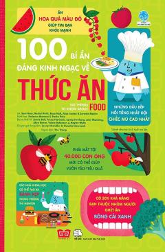 100 Bí Ẩn Đáng Kinh Ngạc Về Thức Ăn