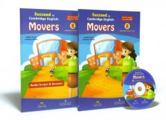 Succeed In Cambridge English: Movers - 8 Complete Practice Tests (Bộ 2 Cuốn + 1 CD)