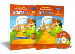 Succeed In Cambridge English: Starters - 8 Complete Practice Tests (Bộ 2 Cuốn + 1 CD)