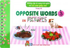 Những Cặp Từ Vựng Trái Nghĩa Và Trò Chơi Ghép Chữ - Opposite Words In Pictures 3