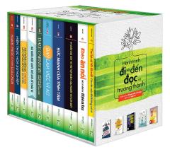 Combo Hành Trình Đi Và Đến, Đọc Và Trưởng Thành - Tuyển Chọn Những Cuốn Sách Hay Dành Cho Bạn Trẻ (Hộp 10 Cuốn)
