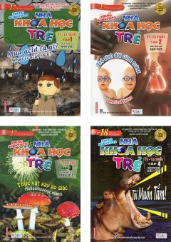 Combo Nhà Khoa Học Trẻ 11-12 Tuổi (Bộ 4 Tập)
