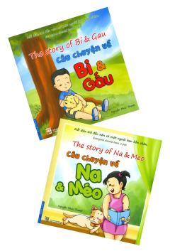 Combo Câu Chuyện Về Bi & Gấu + Na & Méo (Bộ 2 Cuốn - Song Ngữ)