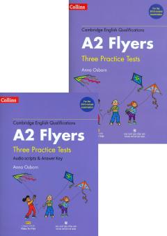 Cambridge English Qualifications: A2 Flyers - Three Practice Tests (Bộ 2 Cuốn - Kèm 1 CD)