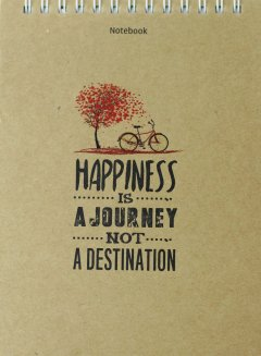Notebook - Happiness Is A Journey Not A Destination (Tái Bản 2018)