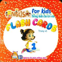 Combo Flash Cards - Tiếng Anh Cho Trẻ Em (Bộ 4 Cuốn)