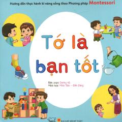 Combo Montessori (Bộ 5 Cuốn) (Tặng Kèm Toán-Anh - Phân Biệt Hình Học)