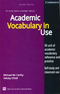Từ Vựng Tiếng Anh Học Thuật - Academic Vocabulary In Use