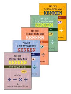 Trò Chơi Ô Chữ Số Thông Minh KenKen - Dành Cho Người Bắt Đầu (Trọn Bộ 5 Tập)
