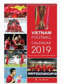 Lịch Treo Tường 2019 - VietNam Football Calendar 2019