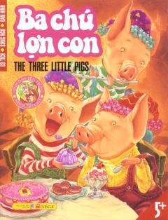 Cổ Tích - Song Ngữ - Dán Hình - Ba Chú Lợn Con