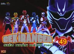 Gekiranger - Siêu Nhân Mãnh Thú - Hộp 24 VCD