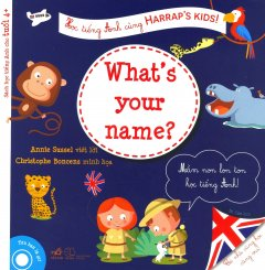 Học Tiếng Anh Cùng Harrap's Kids! - What's Your Name?