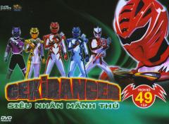 Gekiranger - Siêu Nhân Mãnh Thú - Hộp 12 DVD (Trọn Bộ 49 Tập)