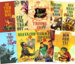 Tranh Truyện Cổ Tích Việt Nam - Trọn Bộ 9 Cuốn (Tặng Quyển Tàu Tốc Hành Bắc Cực)
