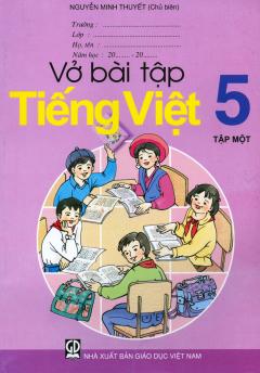Bộ Sách Giáo Khoa Lớp 5 (2019) - Bài Tập (Bộ 12 Cuốn)
