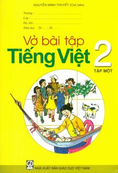 Bộ Sách Giáo Khoa Lớp 2 (2019) - Bài Tập (Bộ 8 Cuốn)
