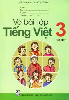 Bộ Sách Giáo Khoa Lớp 3 (2019) - Bài Tập (Bộ 8 Cuốn)