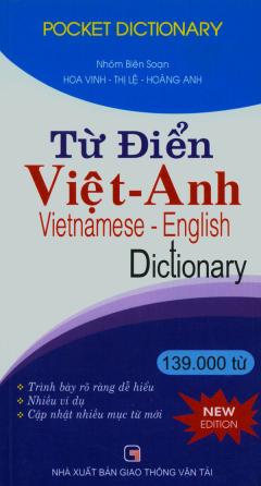 Từ Điển Việt - Anh 139.000 Từ