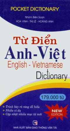 Từ Điển Anh - Việt 179.000 Từ