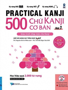 500 Chữ Kanji Cơ Bản - Vol.1 (Kèm 1 CD)