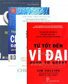 Sách Ngày Doanh Nhân Việt Nam - Bộ Sách Từ Tốt Đến Vĩ Đại (Trọn Bộ 4 Cuốn)