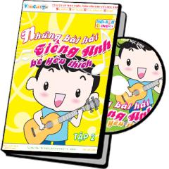 Những Bài Hát Tiếng Anh Bé Yêu Thích - Tập 2 (DVD)