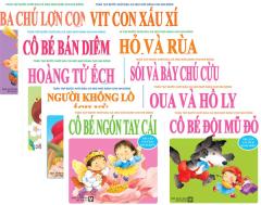 Toàn Tập Bước Khởi Đầu Cá Heo Nhỏ Dành Cho Nhi Đồng - Truyện Cổ Tích Kinh Điển - Trọn Bộ (Bộ 10 cuốn)