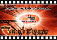 Xem Phim Trực Tuyến Có Bản Quyền - Thẻ e-Eazy