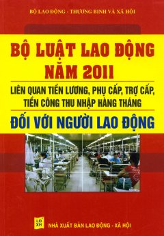 Bộ Luật Lao Động Năm 2011 - Liên Quan Tiền Lương, Phụ Cấp, Trợ Cấp Tiền Công Thu Nhập Hàng Tháng Đối Với Người Lao Động