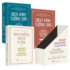 Bộ Sách Dịch Kinh Luận Giải (Bộ 3 Cuốn)