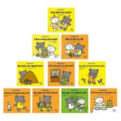 Bộ Sách Ehon - Cùng Chơi Với Gấu Con (Bộ 10 Cuốn)