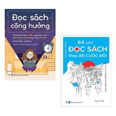 Bộ Sách Kỹ Năng Đọc Sách: 64 Cách Đọc Sách Thay Đổi Cuộc Đời + Đọc Sách Cộng Hưởng (Bộ 2 Cuốn)