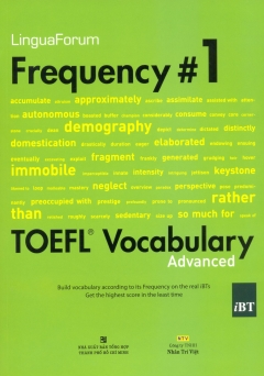 LinguaForum Frequency # 1 Toefl Vocabualary (Kèm 1 MP3)