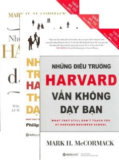 Bộ Sách Bỏ Túi Kinh Doanh Của Trường Harvard - Trọn Bộ 3 Cuốn