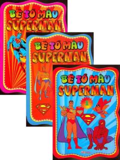 Bé Tô Màu Superman - Bộ 3 Tập