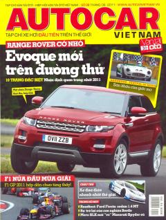 Autocar Việt Nam - Tạp Chí Xe Hơi Đầu Tiên Trên Thế Giới - Số 08 (Tháng 9-2011)