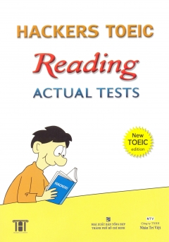 Hackers Toeic Reading Actual Tests - New Toeic Edition