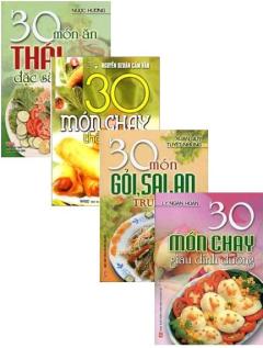 Bộ Sách 30 Món - Bộ 4 Cuốn