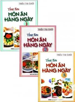 Bộ Sách Thực Đơn Món Ăn Hàng Ngày - Bộ 3 Cuốn