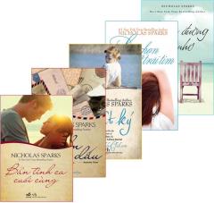 Bộ Sách Văn Học NichoLas Sparks  - Bộ 5 Cuốn